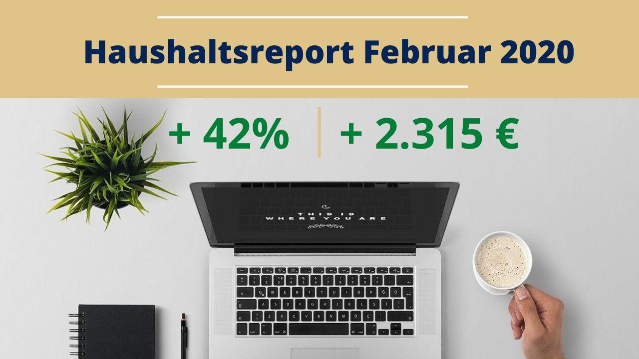 Haushaltsreport Februar 2020
