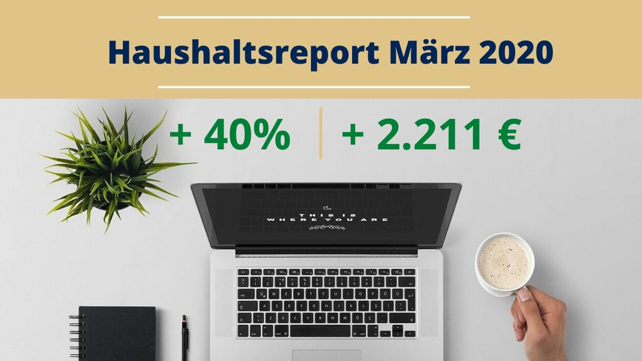 Haushaltsreport März 2020