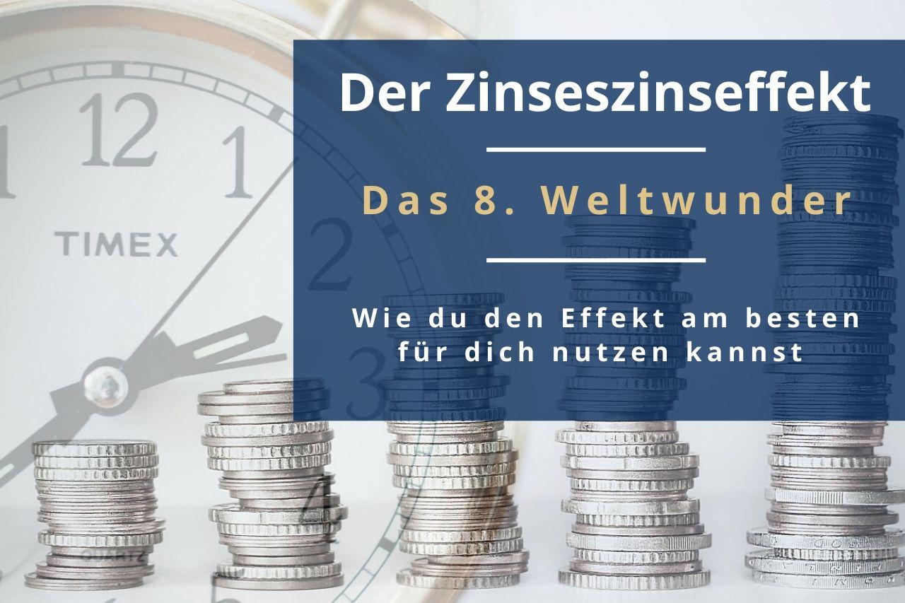 In diesem Beitrag erfährst du, warum du mit dem Zinseszinseffekt einen viel schnelleren Vermögensaufbau betreibst? Finde anhand von Beispielen heraus wie du den Zinseszins perfekt für dich nutzt!