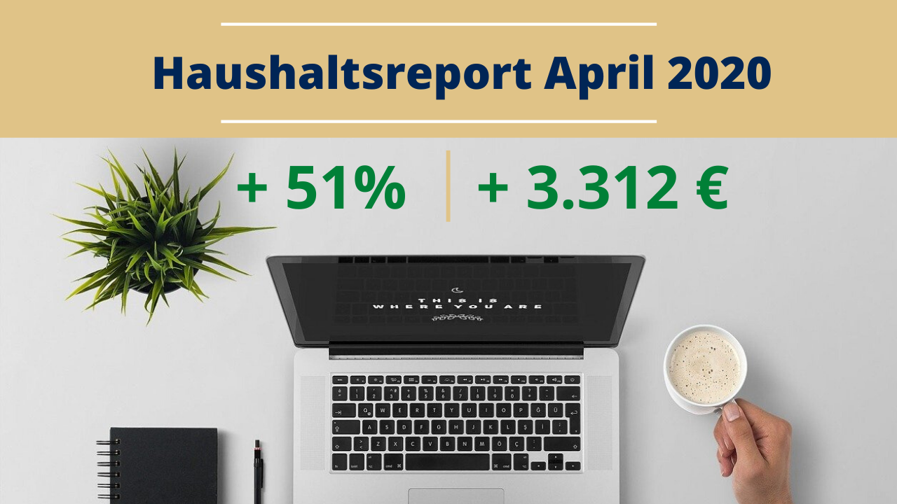 Haushaltsreport April 2020