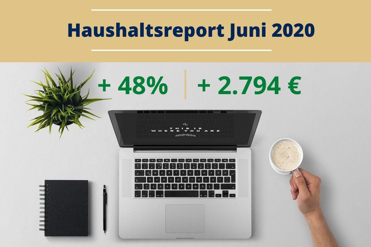 Haushaltsreport Juni 2020