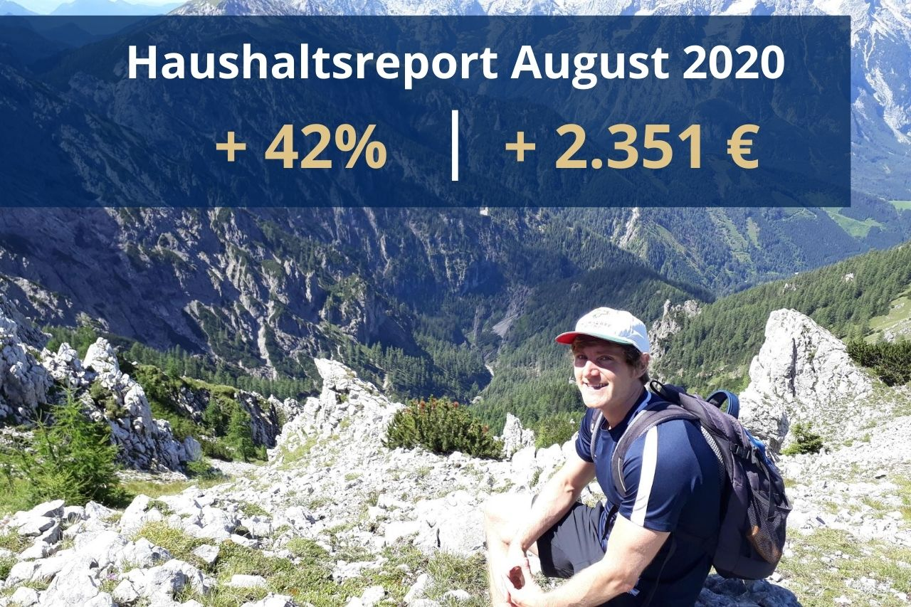 Haushaltsreport August 2020