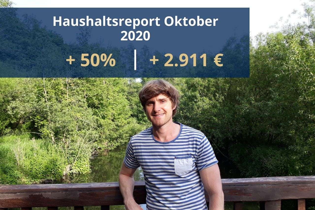 Haushaltsreport Oktober 2020